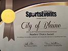 Blaine Award