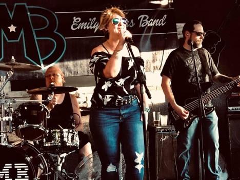 Emily Marrs Band @ The City of Anoka Rockin on the Rum