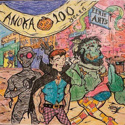Anoka Halloween Coloring Contest