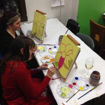 Anoka Halloween Wine and Canvas Paint Nights