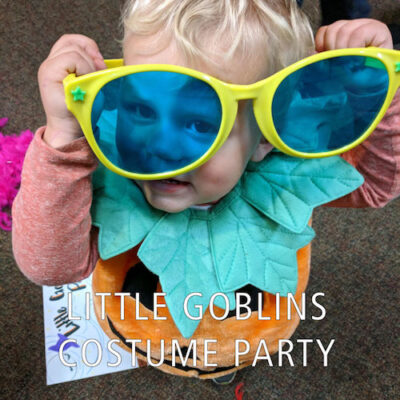 Little Goblins Costume Party at Wargo Nature Center